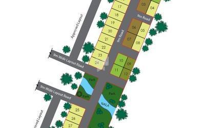mathrushree-properties-badhra-ambara-in-tavarekere-master-plan-kjj