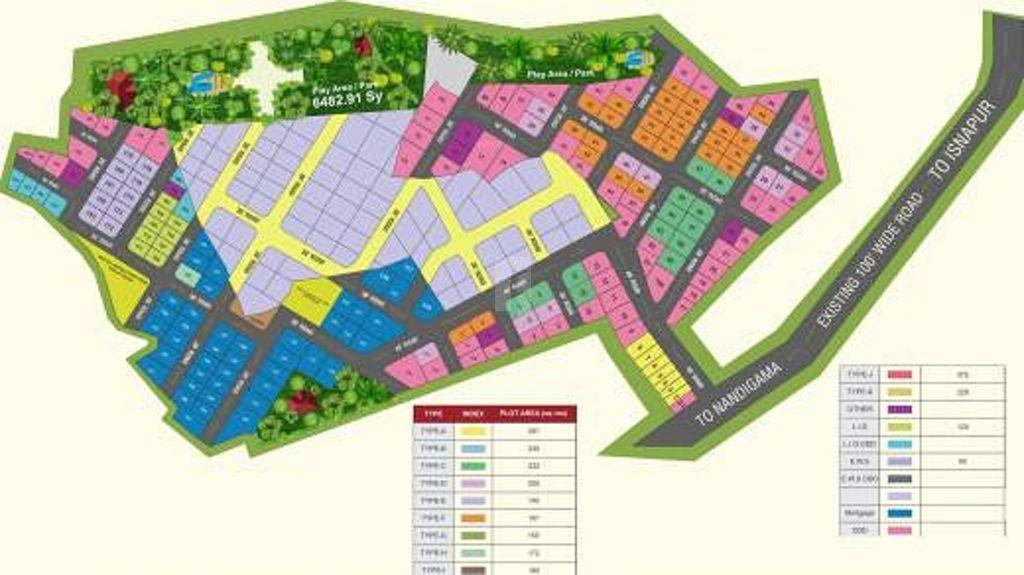 Peram Aditya Royal - Master Plan