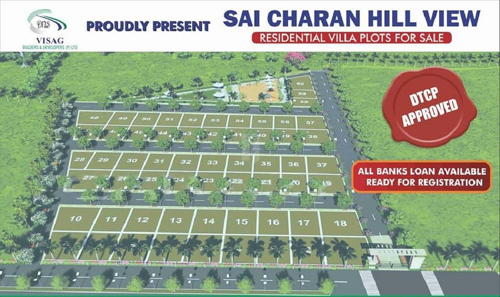 Sai Charan Hill View - Master Plan