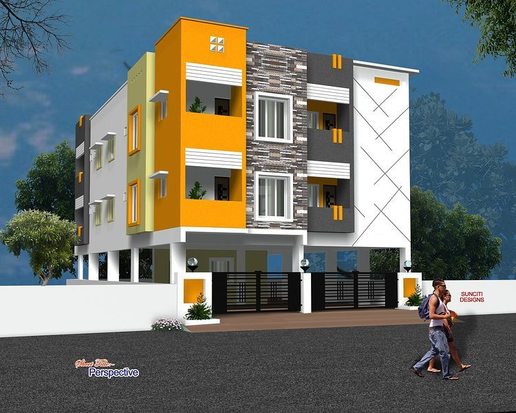 SLNC Sri Padmavathi Apartments - Elevation Photo