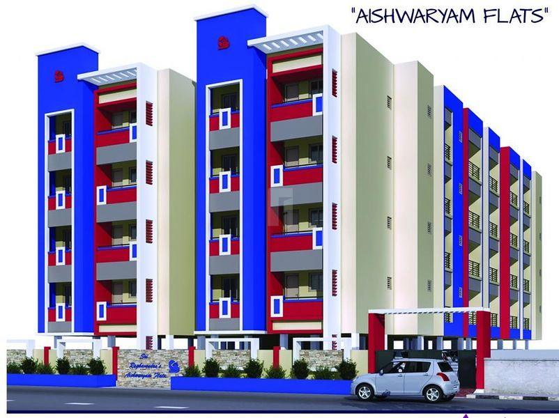 Aishwaryam Flats - Elevation Photo