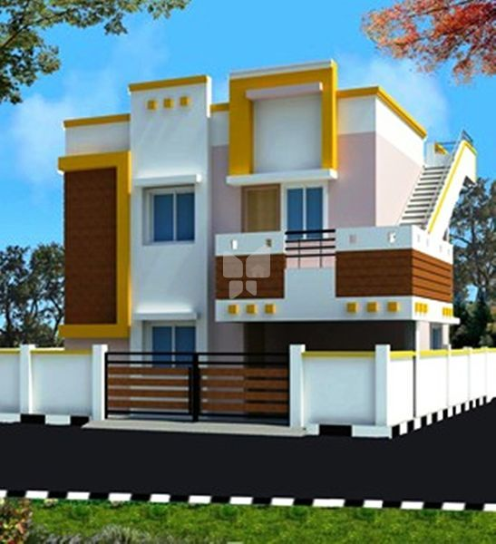 Raja's Twin House - Project Images