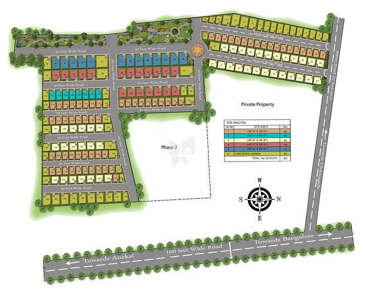 SRR Hyde Park - Master Plans