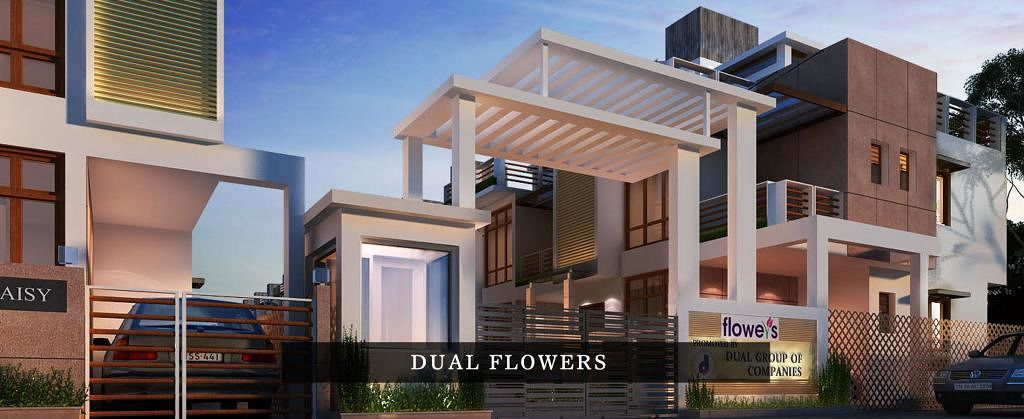Dual Flowers - Elevation Photo