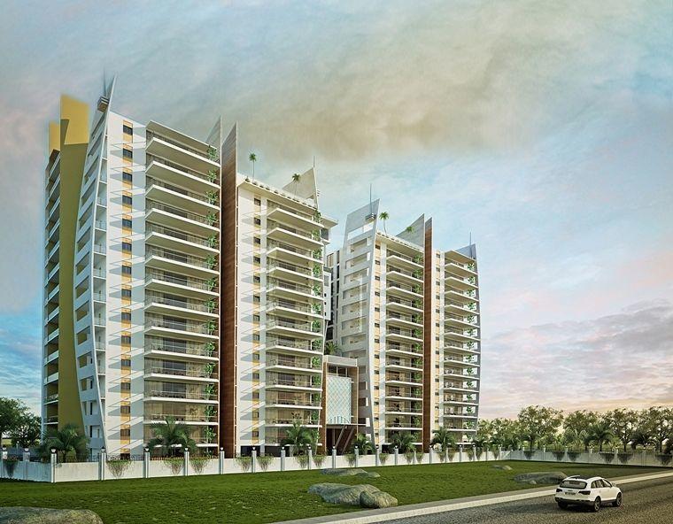 The Lake Towers in Hitech City, Hyderabad - RoofandFloor