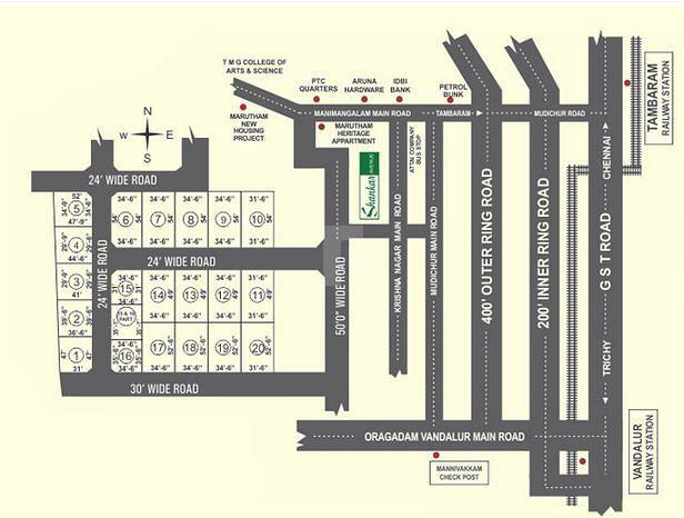 ABI Priyanka Nagar - Master Plans