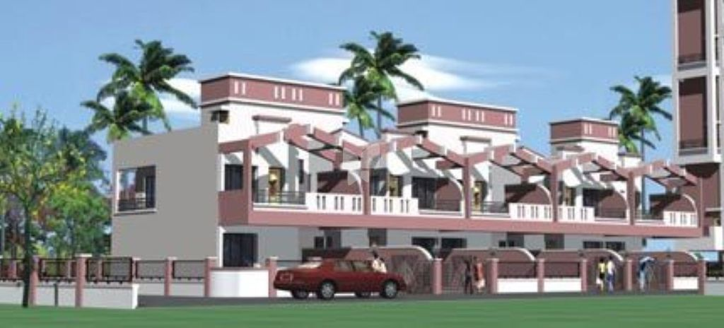 Samruddhi High Bliss Row House - Elevation Photo