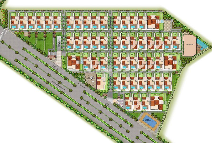 CMRS Balaji Gardens - Master Plans