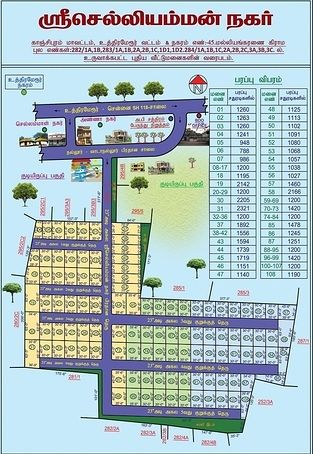 Sri Chelliamman Nagar - Master Plans
