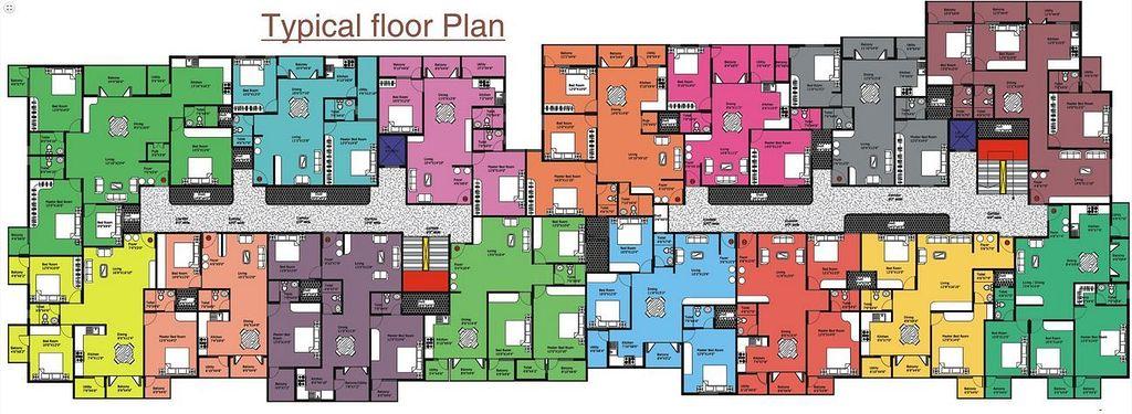DS Max Samrat - Floor Plan - 2D