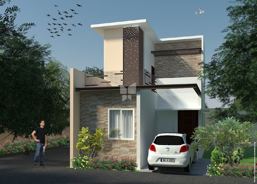 The OMR Paradise - Villas - Elevation Photo