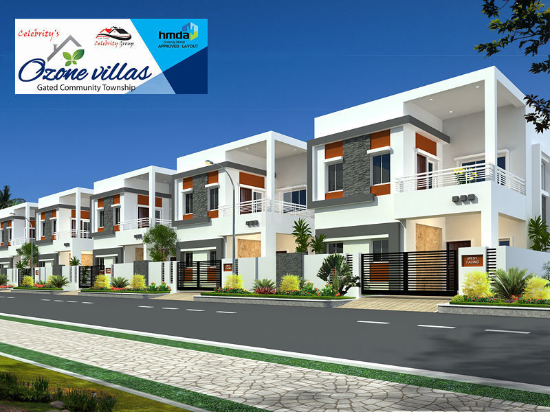Celebrity's Ozone Villas - Project Images