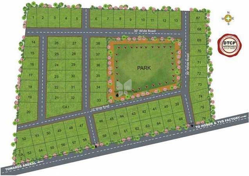 Vaibhava Netaji Paradise - Master Plan