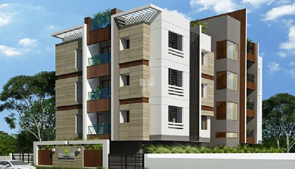 Pushkar Saiarpitha Residence - Elevation Photo