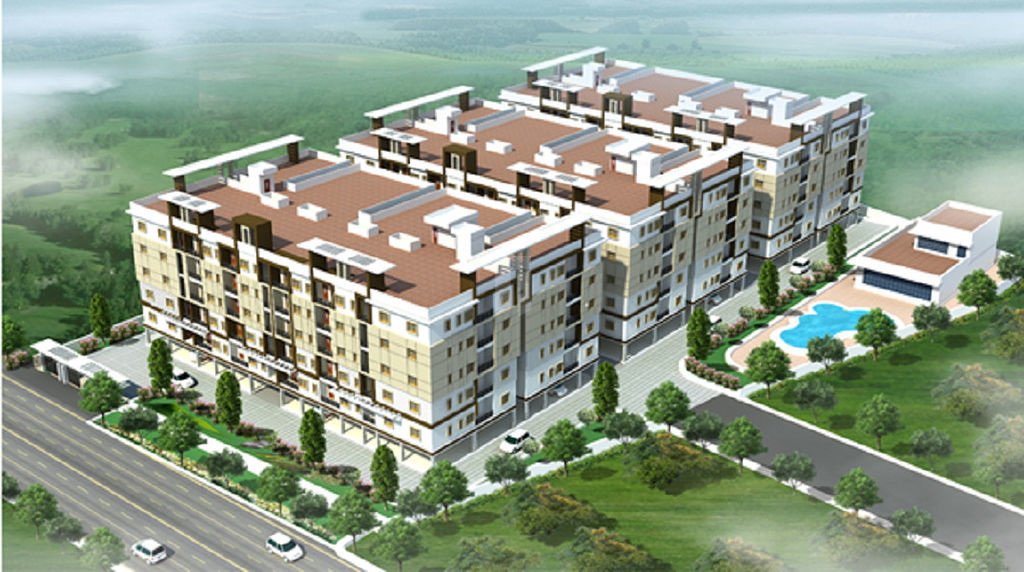 Vasanthaa Banda's Happy Home Signature Towers - Elevation Photo