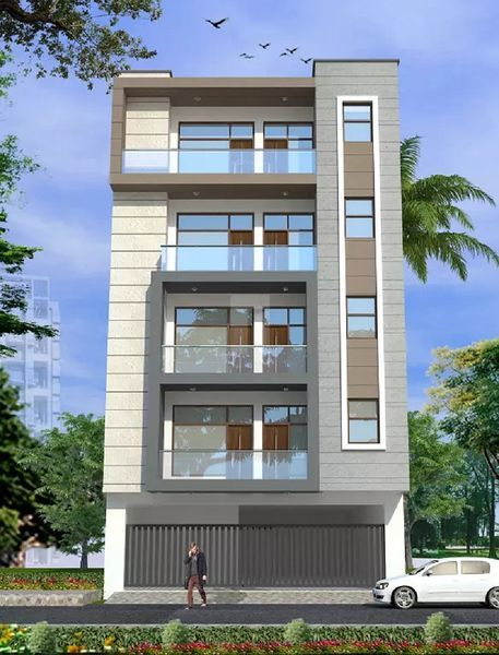 CS Aravali Tower - Elevation Photo
