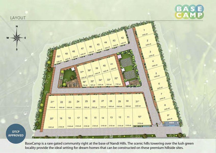 DivyaSree Base Camp - Master Plan