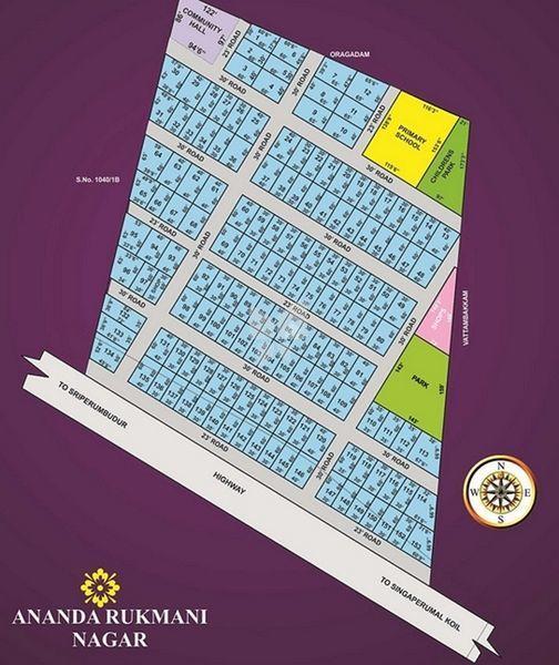 Ananatha Rukmani Nagar - Master Plans