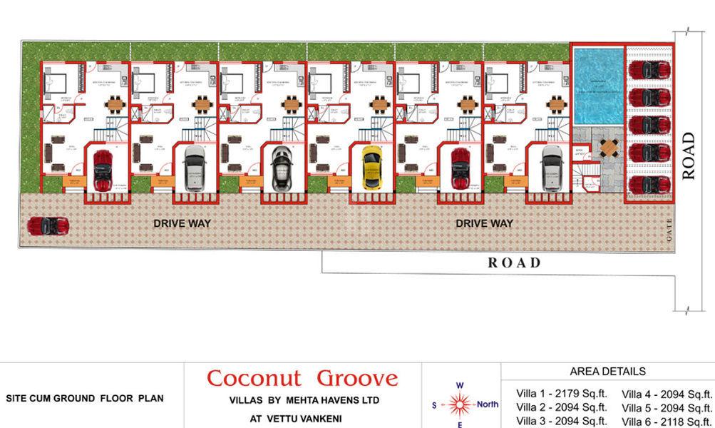 Top Of Bottom Floor Elevation Certificate : Bhk villas in mehta havens coconut groove injambakkam