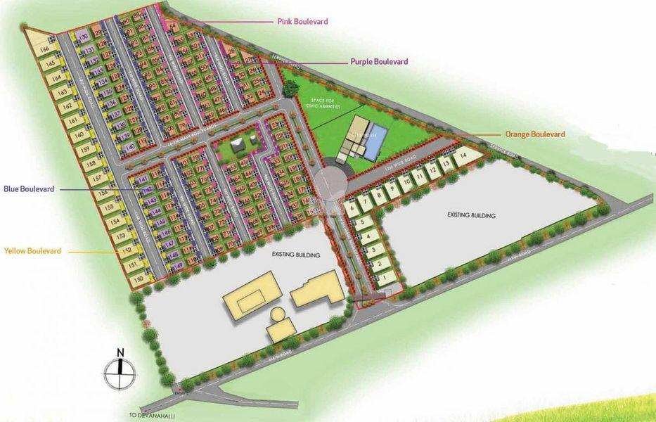 VSPL Rangers Grove - Master Plan
