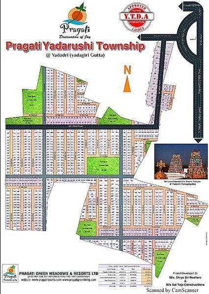 Pragati Resorts Yadarushi Township - Master Plans