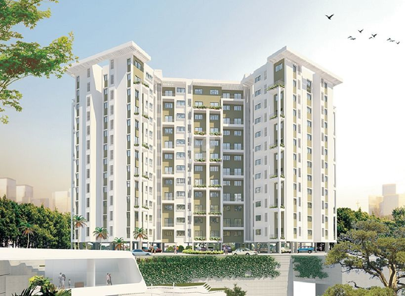 Trimurti Sky Heights II - Elevation Photo