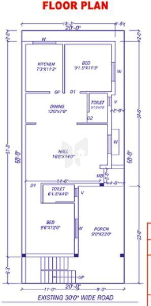 Sengeni Siva Vishnu Avenue - Floor Plan - 2D