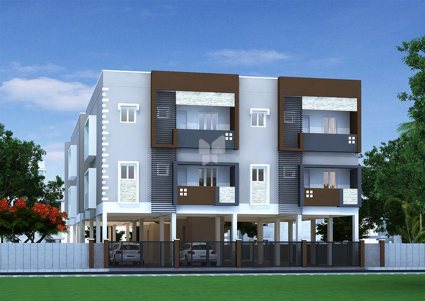 Guru srivari apartments in nanganallur chennai price for Apartment plans chennai