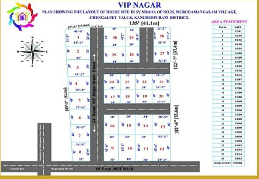 AR Housing VIP Nagar - Master Plan