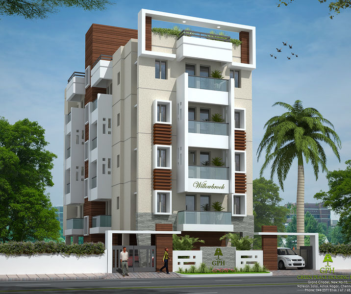 Green peace willow brook in perungudi chennai price for Apartment design guide sepp 65