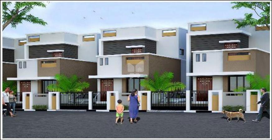 SEBCO Gulmohar Individual villas - Elevation Photo