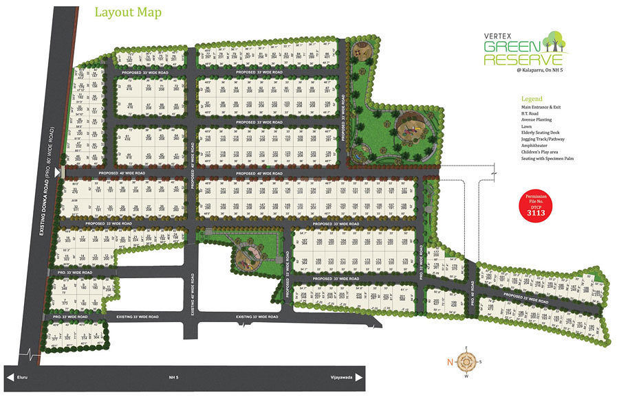 Vertex Green Reserve - Master Plan