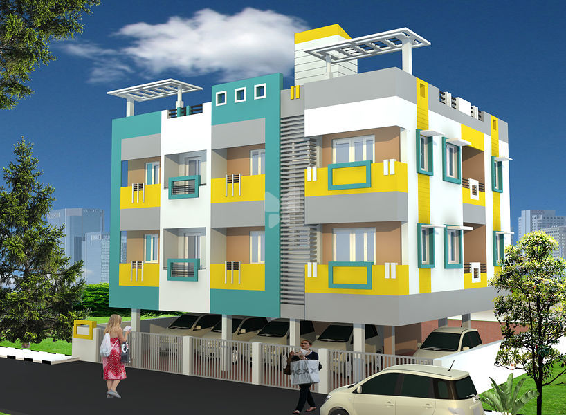 Guru Gokulam Residency in Nanganallur Chennai Price Floor