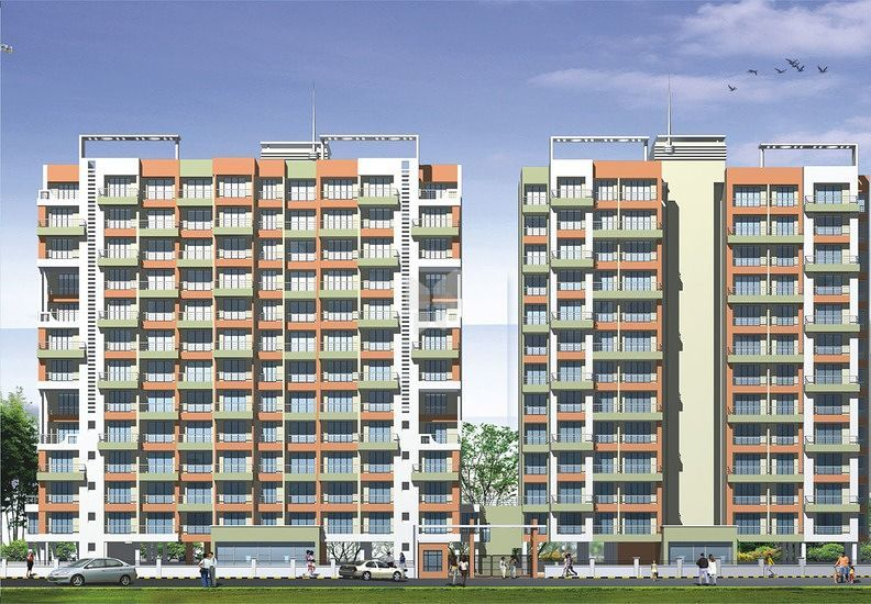Juhi Residency - Elevation Photo