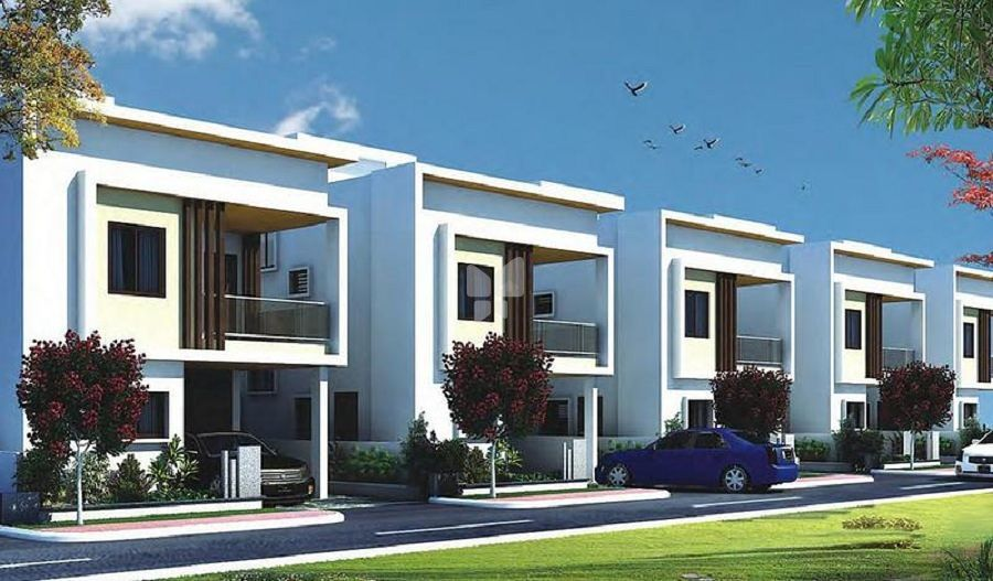 Laxmi GVMR Crown Imperial - Elevation Photo