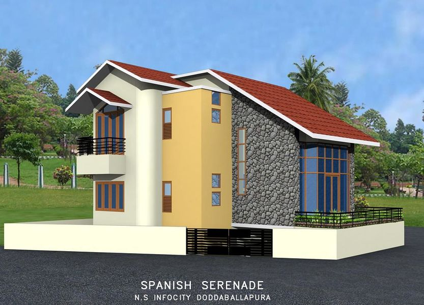 NS Infocity Spanish Fiesta - Elevation Photo