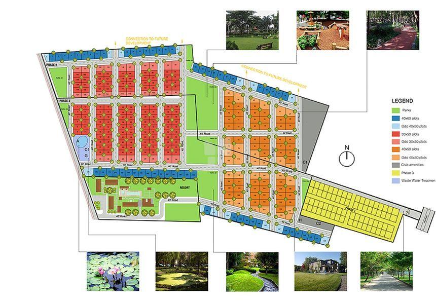 Charmion Celestial Eco Habitats - Master Plans