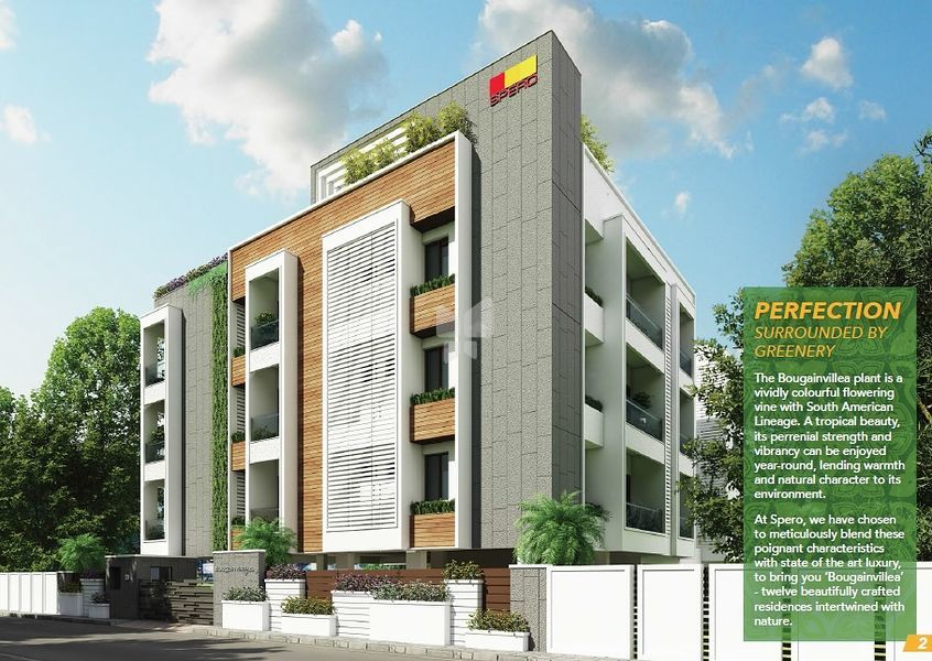 Spero Bougainvillea in Saidapet, Chennai by Spero Property Management - Get  TruePrice, Brochure, Amenities, Price Trends and Map on RoofandFloor | The