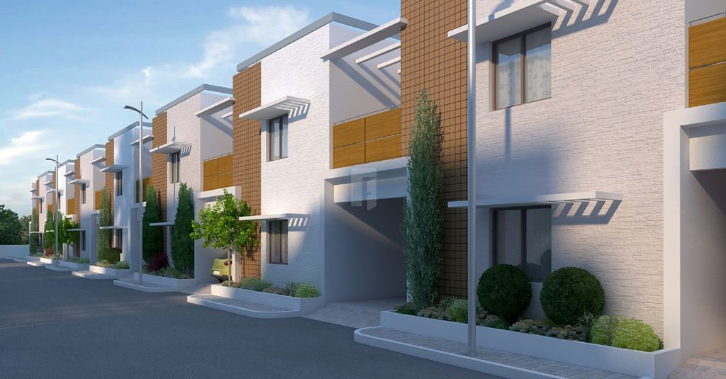 GVSPL Green County Row Houses - Project Images