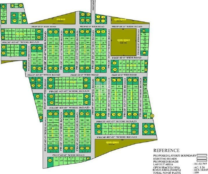 Sahitya Housing Pearl City II - Master Plan