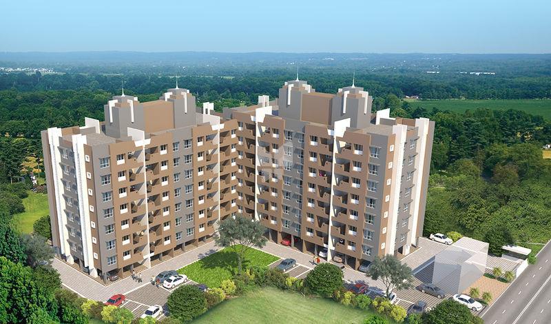 2 BHK Apartment for sale in B Orbit Bonneville Moshi, Pune