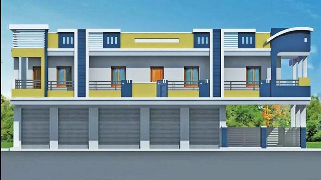 Sri Sai Tirumala MSR Homes - Elevation Photo
