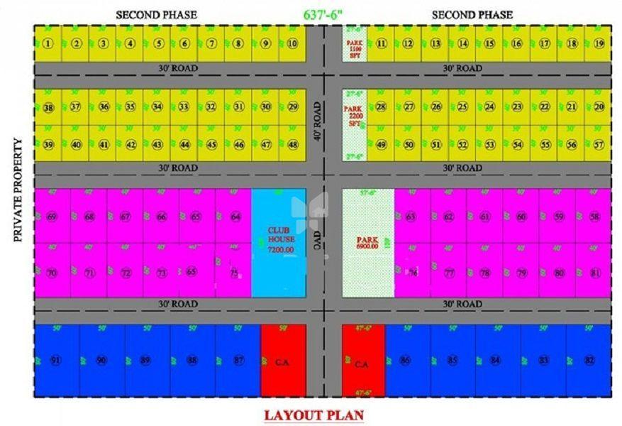 CMM Jalamoda Lake View - Master Plan