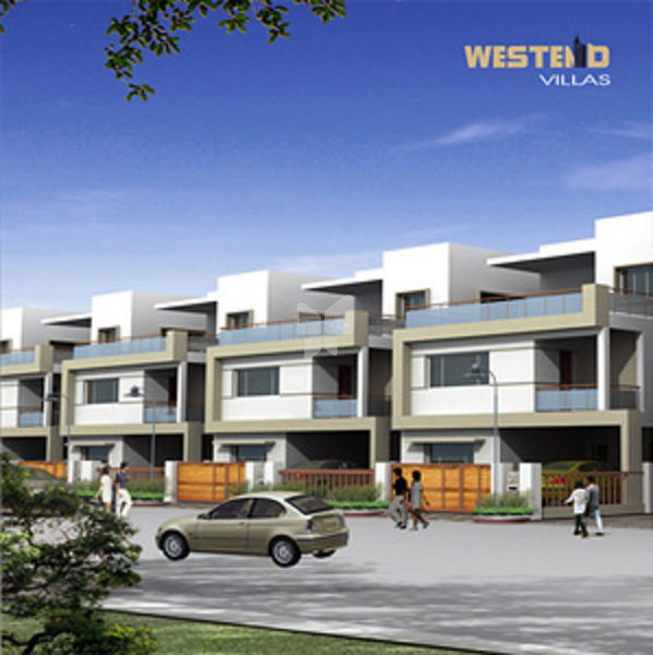 Kribh Westend Villas - Elevation Photo