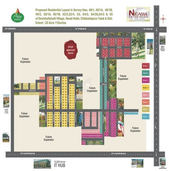 Nigama Aero VIew - Master Plans