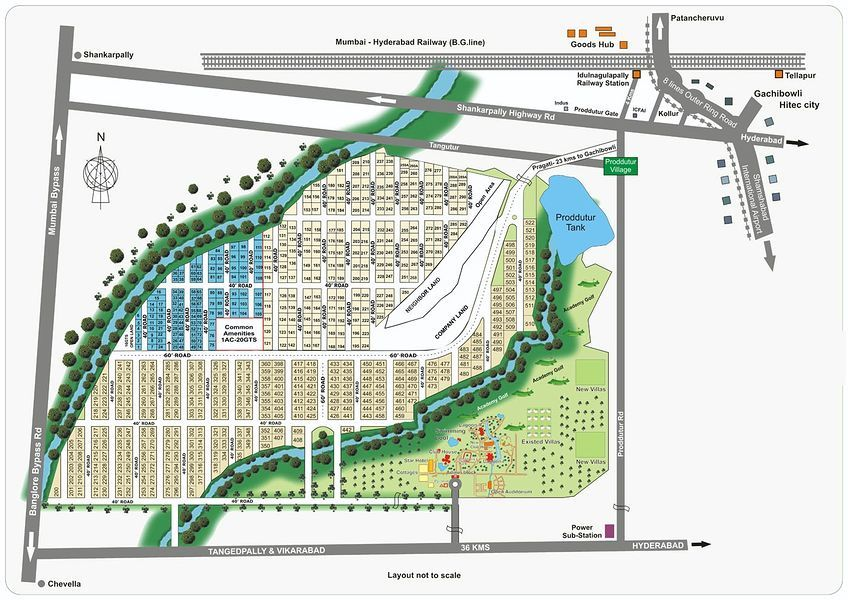 Pragati Green Villas - Master Plans