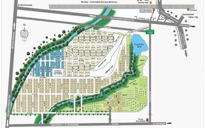 pragati-green-villas-in-shankarpalli-master-plan-1sqc