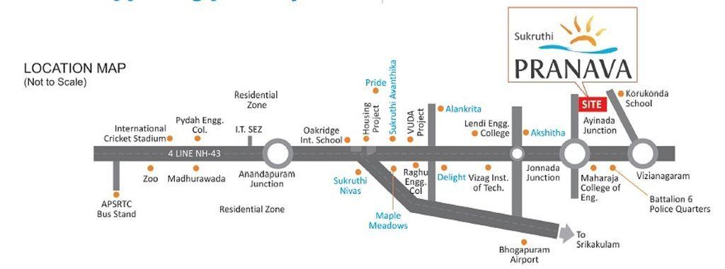 Subhagruha Sukruthi Pranava - Location Maps