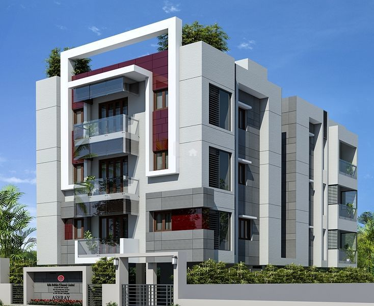 India builders ashraya in anna nagar chennai price for Indian apartment plans with elevation