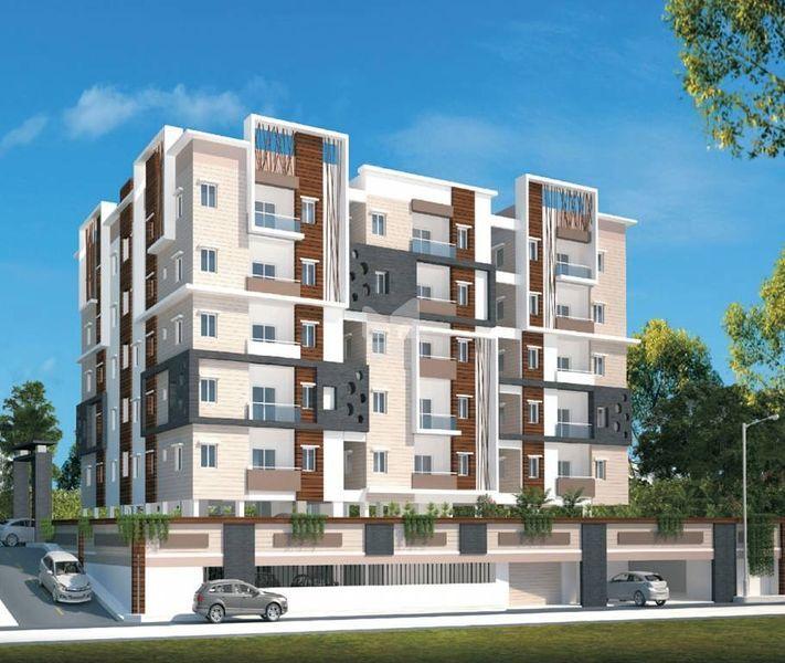 Pratyusha Hill View Residency - Elevation Photo